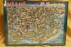 Vintage 1988 City of Miami 504 Piece Jigsaw Puzzle New Sealed