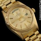 ROLEX PRESIDENT DAY DATE Mens Watch, Champagne Dial - 18K Gold
