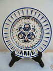 Rouen Fait Main Reticulated Art Pottery Plate**7.5