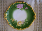 ½ Inch Mums Handled Charger/Tray