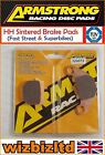 Armstrong Rear HH Brake Pad Adly NB 125 Noble 125 (Rear Disc) 2008-10 PAD320073