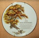 AVON COLLECTOR PLATE 5TH ANNIVERSARY THE GREAT OAK