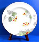 SHELLEY plate, 'LEAVES and BERRIES' pattern, 'Late York' shape, 9