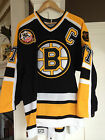 1995 96 Boston Bruins Ray Bourque Center ice 1OO% Authentic Jersey sz48