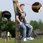 Hunting Tree Stand Hang On TreeStand Seat Cushion Safe Harness Hunt Climber