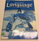 A Beka Gods Gift of Language Writing and Grammar Grade 4 Test Key A B3 107
