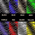 Diamond plate barbed wire vinyl graphic decal sheet craft cutter
