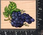 Stampede Wood Mounted Rubber Stamp Grapes