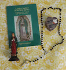 Book, A Rosary with Small Inlaid Heart Box