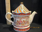 CAROUSEL TEA POT BY SADLER EDWARDIAN ENTERTAINMENTS FROM STAFFORDSHIRE ENGLAND