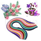 1Pack 240 Stripes 5mm Width Mixed Color Decoration Quilling Paper For DIY Craft