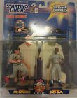 1998 Starting Lineup Classic Doubles Mark McGwire Sammy Sosa Figurines NEW