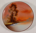 Lustreware Bread Plate, Excellent color and picture for display. Japan