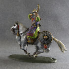 Medieval 1/32 Gallop Bowman Knight Mounted Painted Cavalry Toy Soldier 54mm
