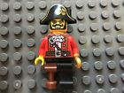Lego pirate captain minifigure