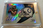 2012 Topps Bowman Signature Colts Andrew Luck RC Helmet Refractor Auto Autograph