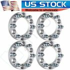 4 25mm 6x55 Wheel Spacers 1 12x125 Studs Fits 2005 2016 For Nissan Armada