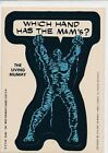 TOPPS 1975 MARVEL STICKER SINGLE CARD NEAR EX CONDITION THE LIVING MUMMY