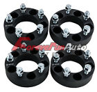 4PC 15 5x45 Black Wheel Spacers Adapter 1 2x20 Studs for Ford Explorer Sport