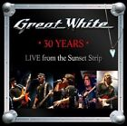 GREAT WHITE 30 YEARS LIVE FROM THE SUNSET STRIP BRAND NEW SEALED CD 2013