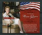 Palau 2016 MNH US First Lady Nancy Reagan 1v S/S II Film Movie Stars Stamps
