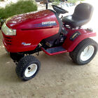 2005 Craftsman 54 Cut Riding Lawn Mower Tractor 22HP 4 Attachments