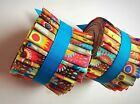 25 inch Fizzy Pop Jelly Roll 100 cotton fabric quilting strips
