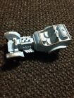 TOOTSIE TOY CAR LIGHT BLUE  METAL DRAGSTER HOT ROD ROADSTER  2