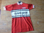 Vintage Sz4 NOS World Champion Stripe Wool Cycling Jersey LEroica olympique spo
