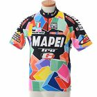 MAPEI Tre G Roller 2002 Italy Team Champion Santini Cycling Jersey Mens L 48