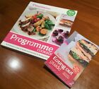 Weight Watchers Programme Cookbook + Eating Out Guide VGC Diet Exercise Health