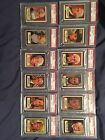 1952 Topps Look N See Graded And Ungraded Presidents Generals PSA