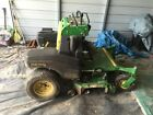 John Deere 647A quik trac zero turn stand on 48in cut mower