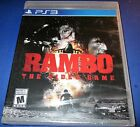 Rambo The Video Game Playstation 3 PS3 Factory Sealed Free Shipping