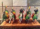 Toy Soldiers 5 Mounted Plastic 54mm Timpo Knights