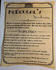 Personalized Speakeasy House Rules Poster 11 x 14 prohibition bar speak easy