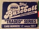 1988 Topps Traded Factory Set 1-132
