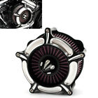 Contrast Cut Turbine Air Cleaner Filter For Harley Sportster XL883 XL1200 91 16
