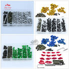 Colorful Motorcycle Sportbike Windscreen Fairing Bolts Kit Fastener Clips Scre