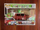 FUNKO POP RIDES 2016 SDCC EXCLUSIVE GHOSTBUSTERS RED ECHO-1 WITH SLIMER!