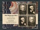 Liberia 2015 MNH Penny Black First Postage Stamp 4v M/S Rowland Hill Stamps