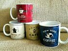 Retro look  Sakura Table Coffee Break Set Of 4 Stoneware Coffee Mugs