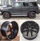 G65 wheels rims 21 inch for Mercedes Benz W463 G class G550 G55 G63 R21 21x10