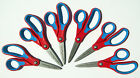 Lot 6 Left handed FISKARS Softgrip Kids Pointed Scissors 5+ MADE IN USA New