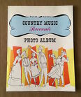 Vintage 1965 COUNTRY and WESTERN SCRAPBOOK 14th Edition PHOTO ALBUM