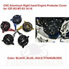 CNC Aluminum Right hand Engine Protecter Cover for YAMAHA YZF-R3 MT-03 14-16 SET