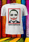 Obama As Joker Parody Socialism T shirt Vest Tank Top Men Women Unisex 553