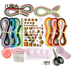 Juya Paper Qillling Kit with 3mm width 960 Strips Paper 10 Tools Pink Color