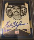 2015 Panini Cooperstown Hall Of Fame Blue Autograph Bert Blyleven Twins 5 25