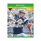 Madden NFL 17: Deluxe Edition (Microsoft Xbox One, 2016) Ships Free on 8 23 16